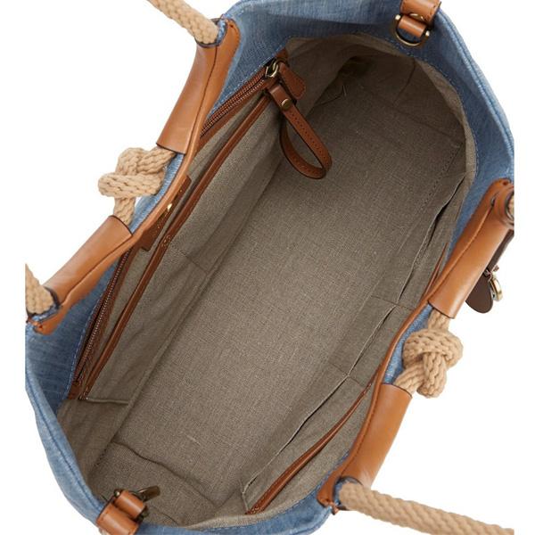 マイケルコース トートバッグ Michael Michael Kors Isla Ring Shoulder Tote (Washed Denim) ショルダー トートバッグ (ウォッシュドデニム) 新作 正規品 レディース バッグ ショルダーバッグ
