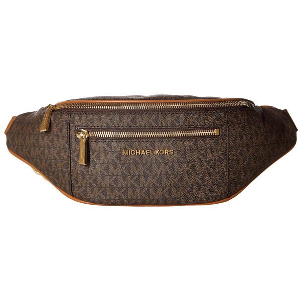 6ecff824633b41 Michael Kors shoulder bag Michael Michael Kors 30S9GOXN6B Medium Logo Belt  Bag (Brown/Acorn ...