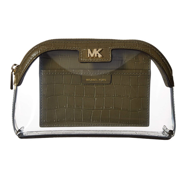 MICHAEL Michael Kors Optic White 【Large Travel Pouch】 マイケル コース レディース ポーチ