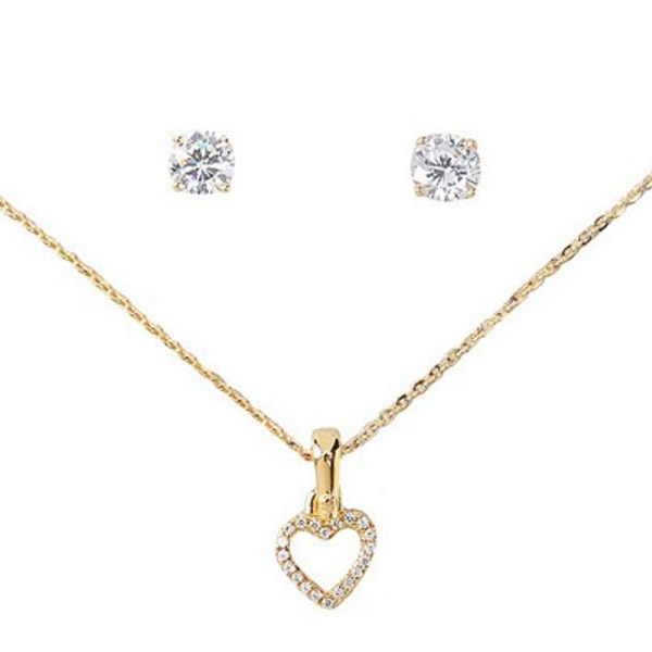 236fe7aeb4d1 The item which a cute heart motif and simple stud bolt pierced earrings  set. It is a recommended item in a gift and a present.