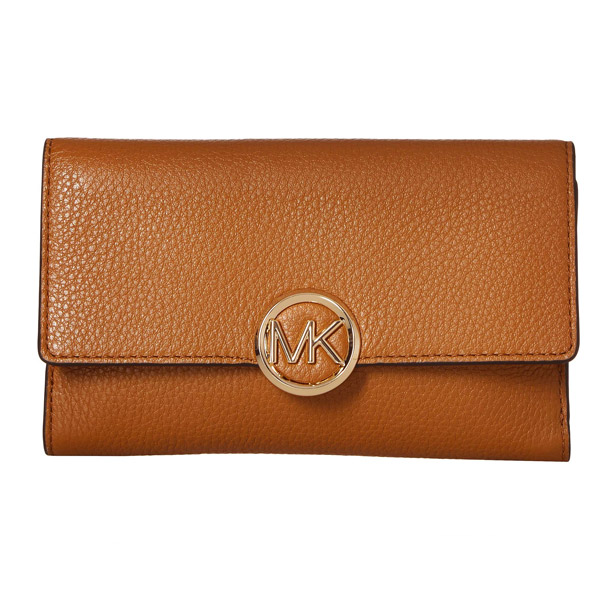 be944294b121 Michael Kors long wallet Michael Michael Kors 32S9G0LE3L Large Lillie  Carry-All Leather Wallet ...