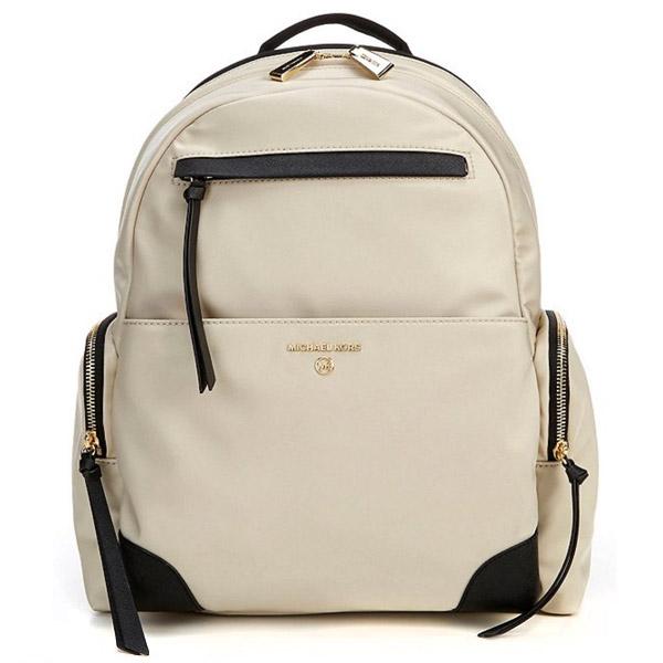 マイケルコース バックパック Michael Michael Kors Prescott Nylon Backpack (Light Sand Multi) ナイロン バックパック (ライトサンド) 新作 正規品 アメリカ買付 レディース バッグ リュック リュックサック マザーズバッグ