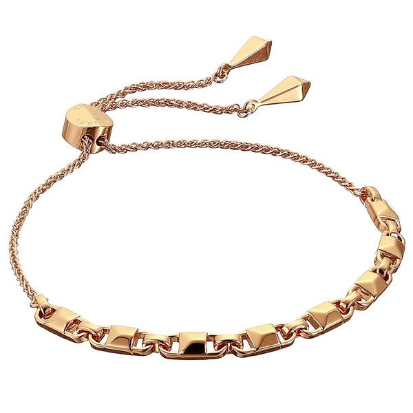 マイケルコース ブレスレット MKC1007AA Michael Michael Kors Precious Metal-Plated Sterling Silver Mercer Link Slider Bracelet (Rose Gold) マーサーリンク スライダー ブレスレット(ローズゴールド) 新作 正規品 アメリカ買付 レディース ジュエリー アクセサリー