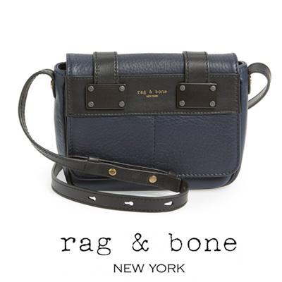 Rag Bone Cross Body Mini Pilot Crossbody Bag Navy New Real Genuine American Purchase Usa Imports