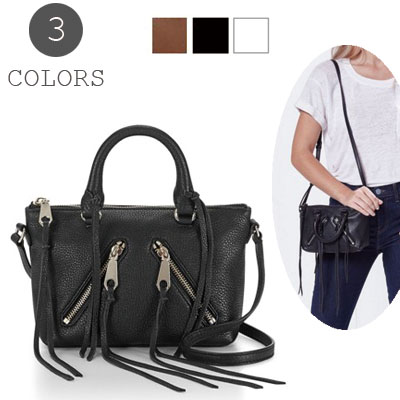 Rebecca Minkoff Bag Las Micro Moto Satche Satchel All Colors Crossbody Pochette Diagonal Mini Shoulder Overseas Mail New