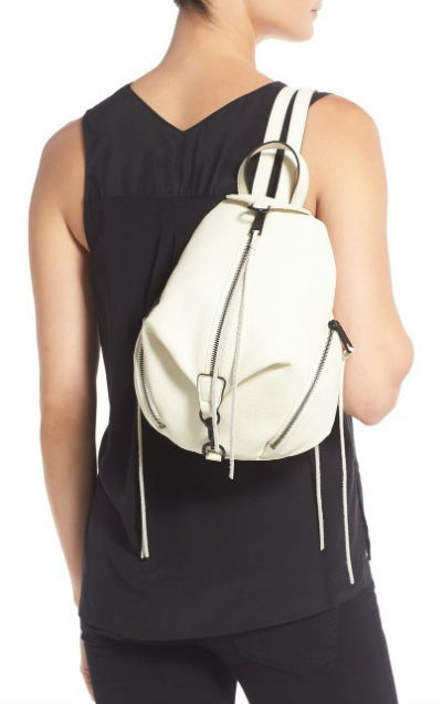6d6699b9710 Rebecca Minkoff REBECCA MINKOFF bag ladies Medium Julian BACKPACK (White)  medium Julien and backpack (white) West Coast celebrity brand new genuine  ...