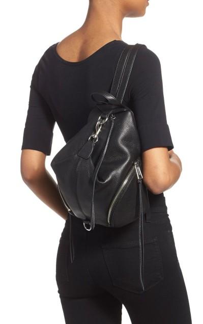 262d939ac4a Rebecca Minkoff REBECCA MINKOFF bag ladies Medium Julian BACKPACK (Black)  medium Julien and backpack (black) West Coast celebrity brand new genuine  ...