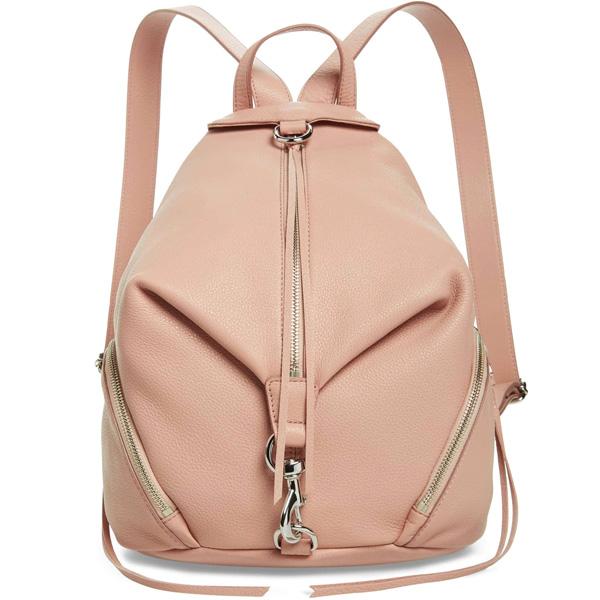 レベッカミンコフ バックパック REBECCA MINKOFF HF17GPBB01Julian Backpack (Doe) ジュリアン レザー バックパック (ドゥ) 新作 正規品 アメリカ買付 レディース バッグ リュックサック リュック