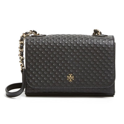 ba71919cc231 Tory Burch Tory Burch bag Marion Embossed Shrunken Shoulder Bag (BLACK) Marion  embossed shoulder bag   Pochette (black) new genuine USA imported from  United ...
