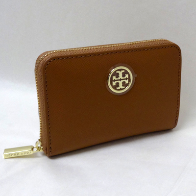 d3dd2a068481 Tory Burch wallet coin purse ROBINSON ZIP COIN CASE (TIGERS EYE 202)  Robinson leather coin purse (Tiger s eye) ☆ genuine American purchase USA  imports