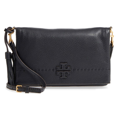 1d5d8bc2cbdc Tolly Birch shoulder bag 44559 Tory Burch MCGRAW FOLD-OVER CROSS-BODY  (Black) hold overcrossbody (black) new work regular article United States  buying ...