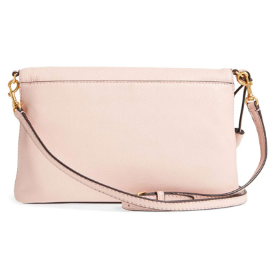 605bef20b995 Tolly Birch shoulder bag 44559 Tory Burch MCGRAW FOLD-OVER CROSS-BODY (Pink  Quartz) hold overcrossbody (ピンククウォーツ) new work regular article United ...