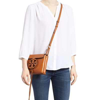 1c99cb959f1 Hang Tolly Birch shoulder bag 47123 Tory Burch MILLER CROSS-BODY (Aged  Camello) mirror synthetic leather body bag (brown system) Miller Leather  Crossbody ...