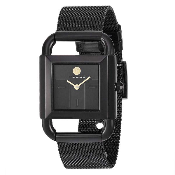 トリーバーチ 腕時計 Tory Burch TBW7253PHIPPS WATCH, BLACK-TONE STAINLESS STEEL/BLACK, 24 MM (Black) ブラック ウォッチ 時計 (ブラック) 新作 正規品 アメリカ買付 レディース ジュエリー アクセサリー