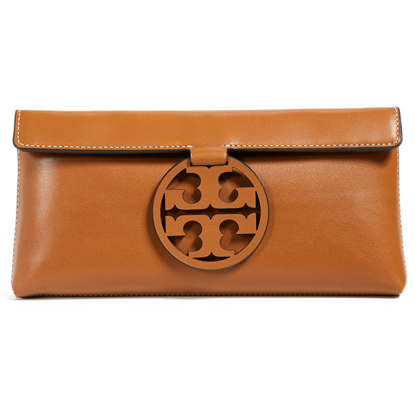 c8c679dc5b4630 Tolly Birch clutch Tory Burch 46988 MILLER CLUTCH (Aged Camello) mirror  leather clutch bag (キャメロ) Miller Leather Clutch new work regular article  United ...