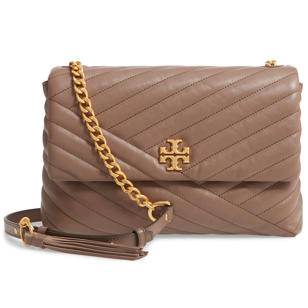 5f58135a67 Tolly Birch shoulder bag 53102 Tory Burch KIRA CHEVRON FLAP SHOULDER BAG  (Classic Taupe) ...