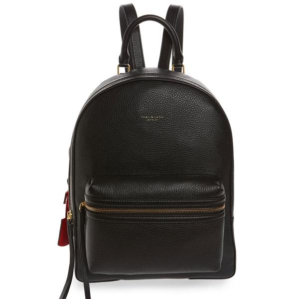 トリーバーチ バックパック Tory Burch 58025PERRY BACKPACK (BLACK) レザー バックパック/リュック (ブラック) Perry Leather Backpack 新作 正規品 アメリカ買付 レディース バッグ リュックサック