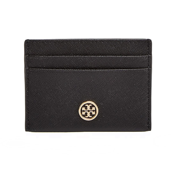 wholesale dealer 155fd ba077 Tolly Birch card case Tory Burch Robinson Leather Card Case (Black)  Robinson leather card case (black) new work regular article Lady's wallet  ...