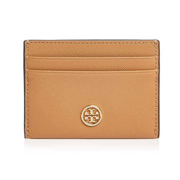 buy popular 4e2bf 20c2c Tolly Birch card case Tory Burch Robinson Leather Card Case (Cardamom  Brown) Robinson leather card case (brown) new work regular article Lady's  wallet ...