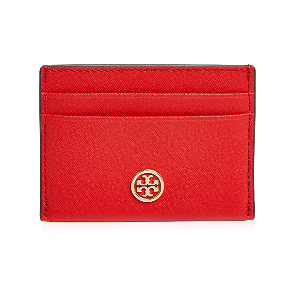 promo code cb56d 07893 Tolly Birch card case Tory Burch Robinson Leather Card Case (Brilliant Red)  Robinson leather card case (red) new work regular article Lady's wallet ...
