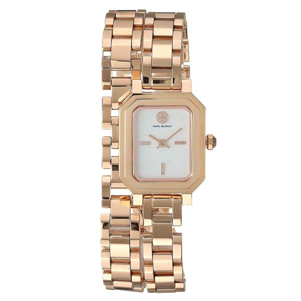 トリーバーチ 腕時計 Tory Burch TBW1508ROBINSON MINI WATCH, ROSE GOLD-TONE /IVORY, 22 MM (Rose Gold/Ivory) ロビンソン ミニ ウォッチ 時計 (ローズゴールド) Robinson Mini Watch, 22mm 新作 正規品 レディース ジュエリー ギフト プレゼント