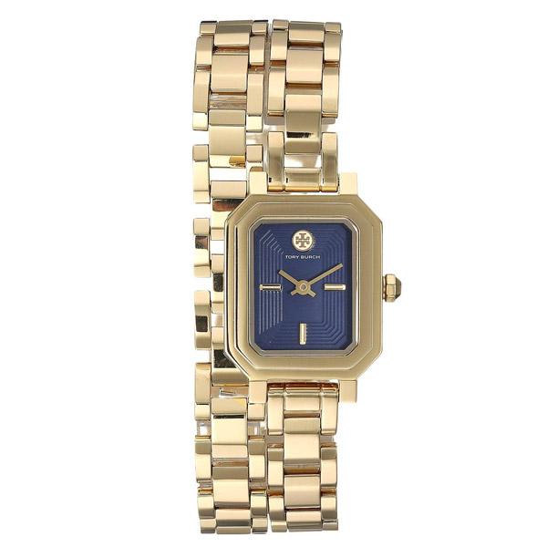 トリーバーチ 腕時計 Tory Burch TBW1506ROBINSON MINI WATCH, GOLD-TONE/NAVY, 22 MM (Gold/Navy) ロビンソン ミニ ウォッチ 時計 (ゴールド) Robinson Navy Blue Dial Mini Watch, 22mm 新作 正規品 レディース ジュエリー ギフト プレゼント