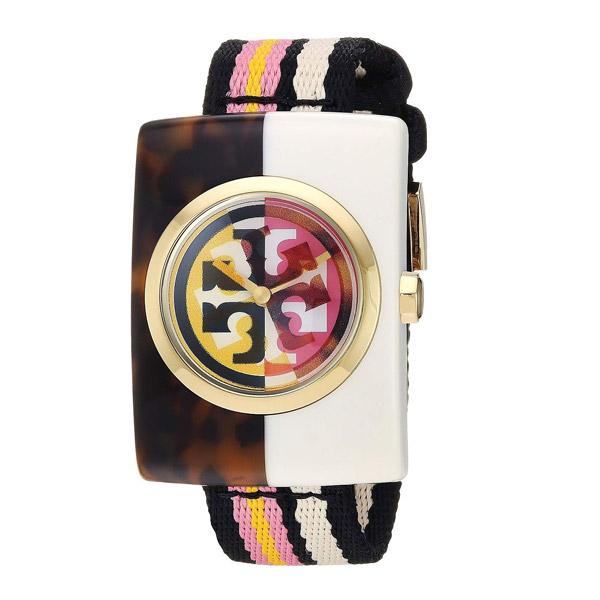 トリーバーチ 腕時計 Tory Burch TBW3500EDIE WATCH, MULTICOLOR, 32MM X 45 MM (Multi) エディー ウォッチ 時計 (マルチ) Eddie Watch, 32mm x 45mm 新作 正規品 レディース ジュエリー ギフト プレゼント