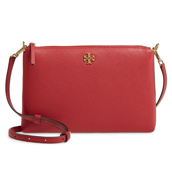 配送員設置 トリーバーチ ショルダーバッグ Tory Burch Kira Pebbled Leather Wallet Shoulder Bag (RedStone) キラ レザー ウォレット ショルダーバッグ (レッドストーン), キッズマーケット 1c3378de