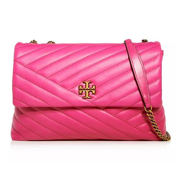 100%安い トリーバーチ ショルダーバッグ レディース 58465 Tory Burch KIRA Chevron CHEVRON CONVERTIBLE SHOULDER Leather BAG (Crazy Pink) キラ シェブロン コンバーチブル ショルダーバッグ (ピンク) Kira Chevron Leather Shoulder Bag 新作 正規品 アメリカ買付 レディース バッグ チェーンバッグ, Bambi Water OnlineShop:e4ce1d63 --- nada-yoga.com