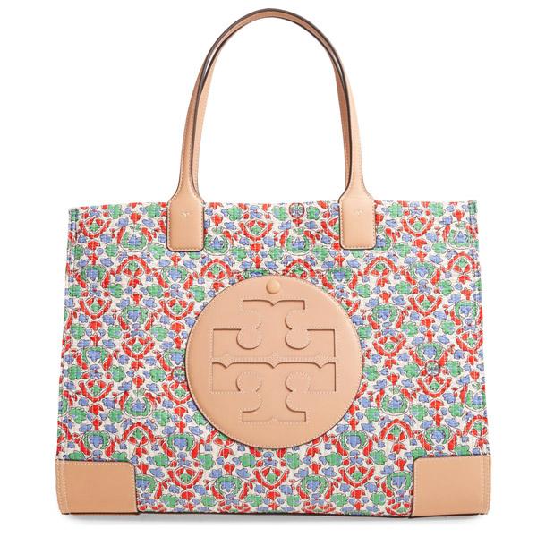 トリーバーチ トートバッグ Tory Burch Legacy Paisley Handbag (April Legacy Paisley) エラ フローラル キルティング トート (ペイズリー) Ella Floral Quilted Tote 新作 正規品 アメリカ買付 レディース バッグ 花柄 通勤 通学