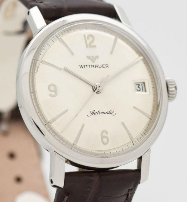 WITTNAUER ウイットナー海外直輸入品【ヴィンテージ】オートマチック・デイト アンティーク ウォッチ 1960's