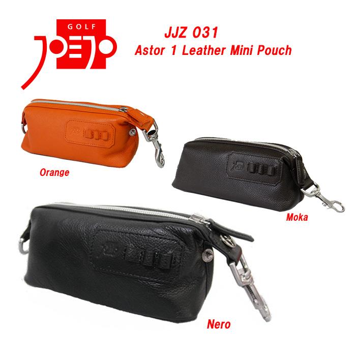 ジョジョ JJZ031 JJポーチ Astor 1 Leather Mini Pouch JOEJO レザーミニポーチ