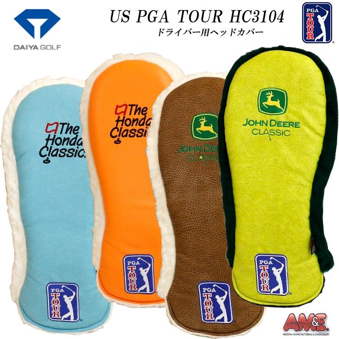 ダイヤゴルフ HC-3104 US PGA TOUR ヘッドカバー ドライバー用