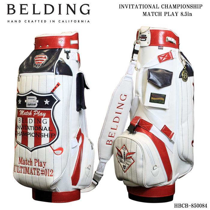 大好評です ベルディング BELDING HBCB-850084 インビテーショナル キャディバッグ マッチプレー チャンピオンシップ 8.5インチ 早割クーポン
