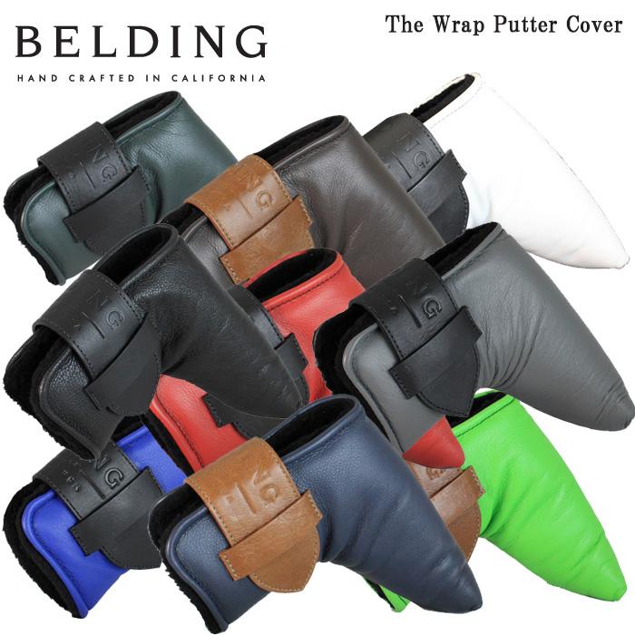 ベルディング BELDING The Wrap Putter Cover ザ ラップ パターカバー ピン型用