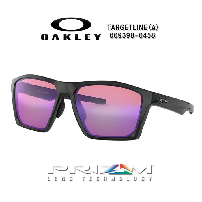 f21eed45a5 Oakley OAKLEY 0OO9398-0458 TARGETLINE (A) golf sunglasses Polished Black  Prizm Golf
