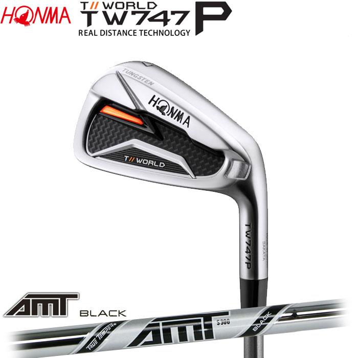 ホンマゴルフ HONMA TOUR WORLD TW747 P アイアン AMT BLACK 単品 1本