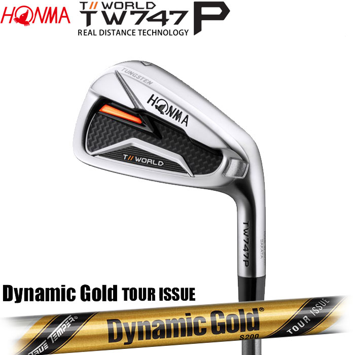 ホンマゴルフ HONMA TOUR WORLD TW747 P アイアン Dynamic Gold TOUR ISSUE 5~10 (6本セット)