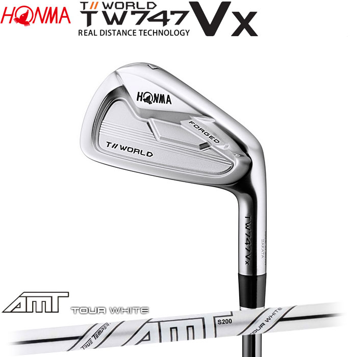 ホンマゴルフ HONMA TOUR WORLD TW747 VX アイアン AMT TOUR WHITE 5~10 (6本セット)