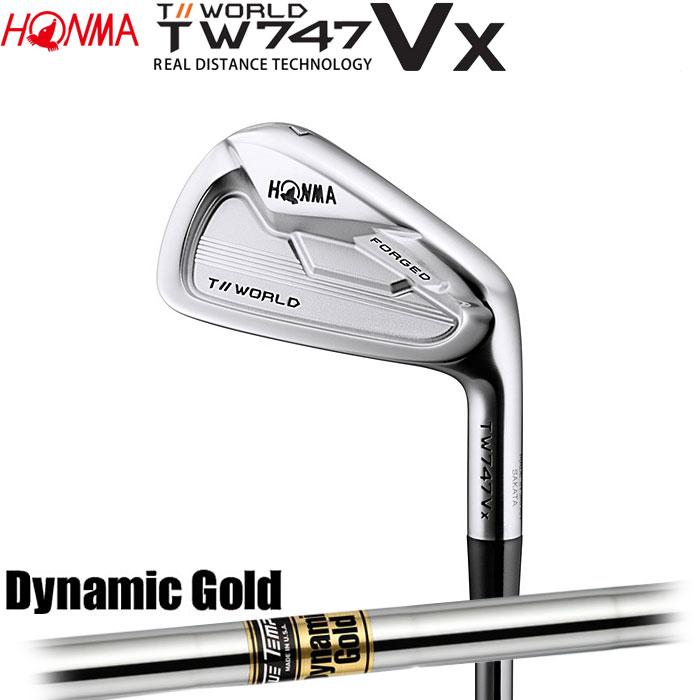 ホンマゴルフ HONMA TOUR WORLD TW747 VX アイアン Dynamic Gold 5~10 (6本セット)