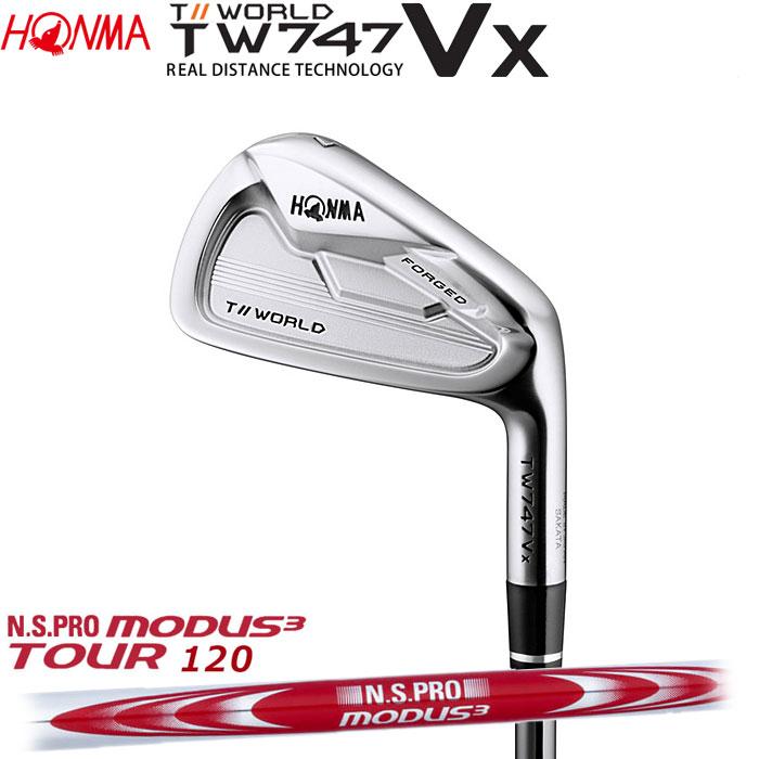 ホンマゴルフ HONMA TOUR WORLD TW747 VX アイアン N.S.PRO MODUS3 TOUR 120 5~10 (6本セット)