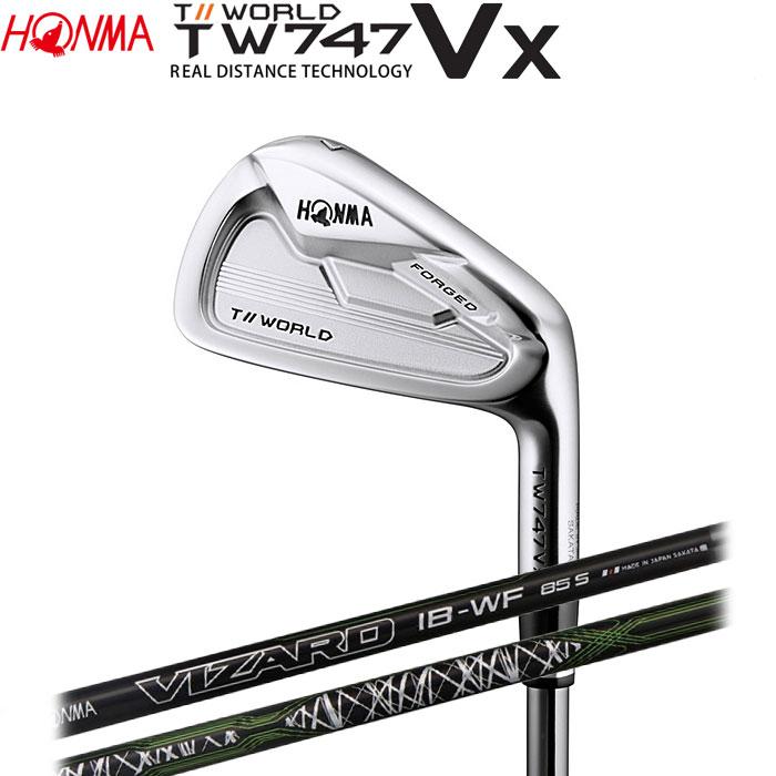 ホンマゴルフ HONMA TOUR WORLD TW747 VX アイアン VIZARD IB-WF 5~10 (6本セット)