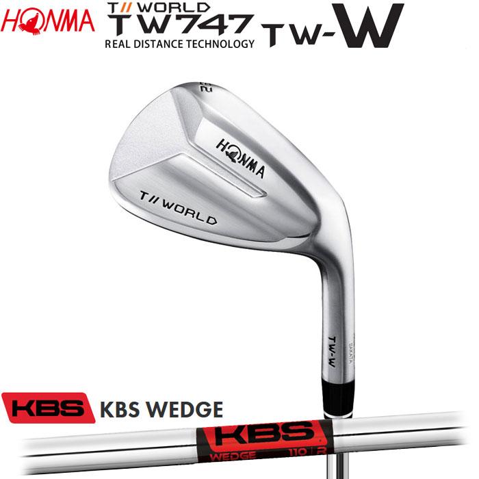 ホンマゴルフ HONMA TOUR WORLD TW747 TW-W ウェッジ KBS WEDGE
