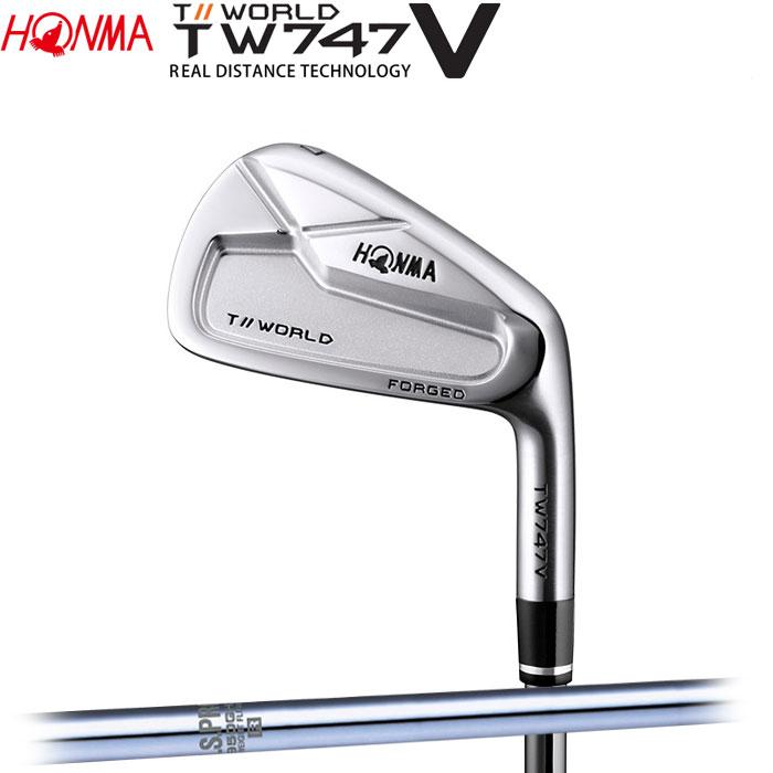 【4/16 01:59までポイントアップ!】ホンマゴルフ HONMA TOUR WORLD TW747 V アイアン N.S.PRO 950GH WF 単品 1本
