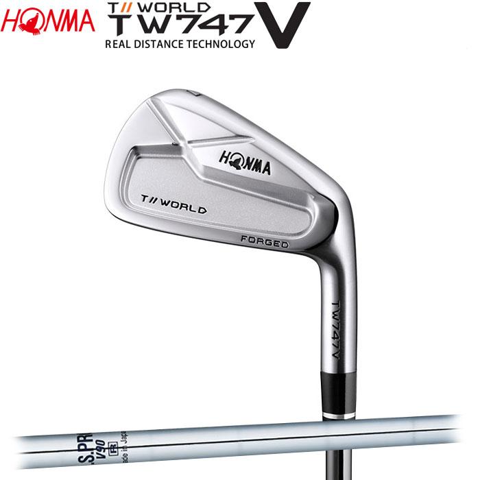 【期間限定SALE!3/11 1:59まで】ホンマゴルフ HONMA TOUR WORLD TW747 V アイアン N.S.PRO V90 5~10 (6本セット)