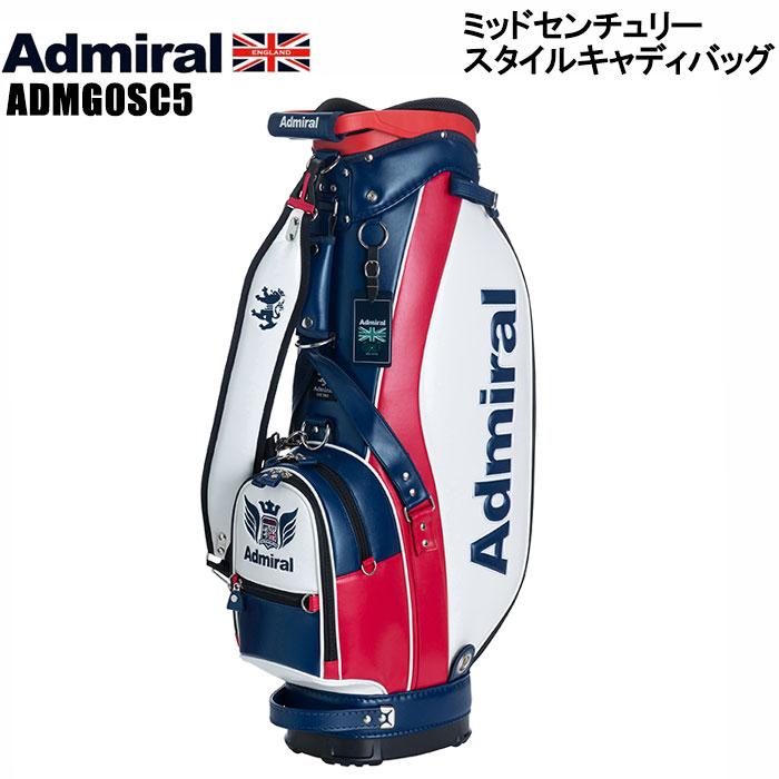 アドミラル admiral ADMG0SC5 ミッドセンチュリースタイル キャディバッグ 8.5インチ