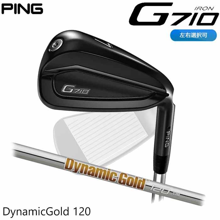 【左右選択可】PING ピン G710 アイアン Dynamic Gold 120 単品 1本 日本正規品