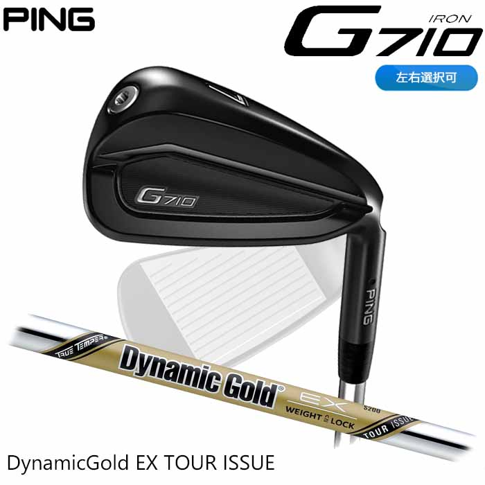 【左右選択可】PING ピン G710 アイアン Dynamic Gold EX TOUR ISSUE 単品 1本 日本正規品