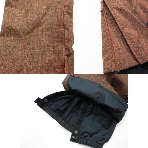 尼基塔 (尼基塔) 溶膠褲子女人 (2-口氣) 穿滑雪板孟買布朗孟買棕色 S