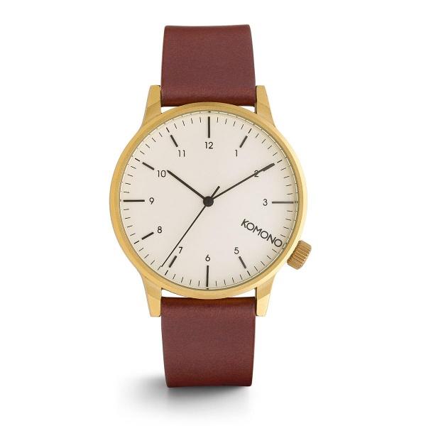 【12時までなら即日発送!】KOMONO(コモノ)WINSTON REGAL ウィンストン リーガル CHESTNUT 腕時計 メンズ レディース